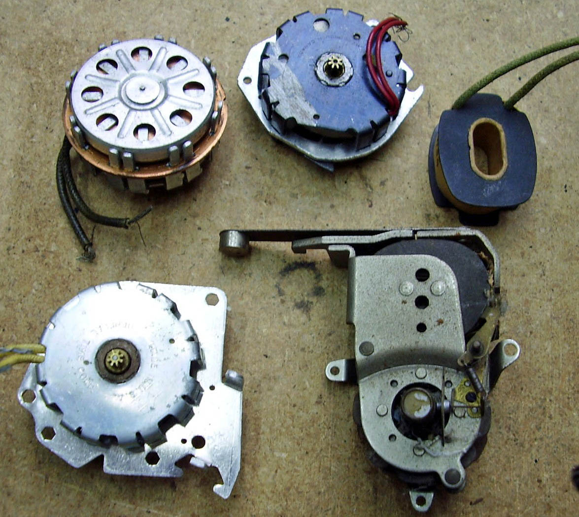 Mike S Telechron Clock Clinic S General Time Clock Motors Page